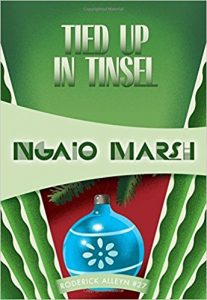 Cover Image-Tied Up in Tinsel by Ngaio Marsh http://amzn.to/2BTGZeh
